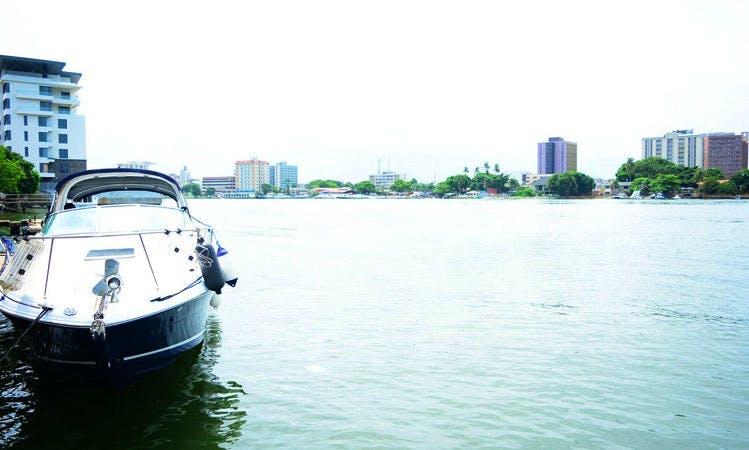 Sea Ray Sundancer 320 Inboard Propulsion Boat Rental in Lagos