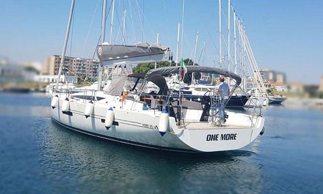 55' More Cruising Monohull Charter in Palermo, Sicilia
