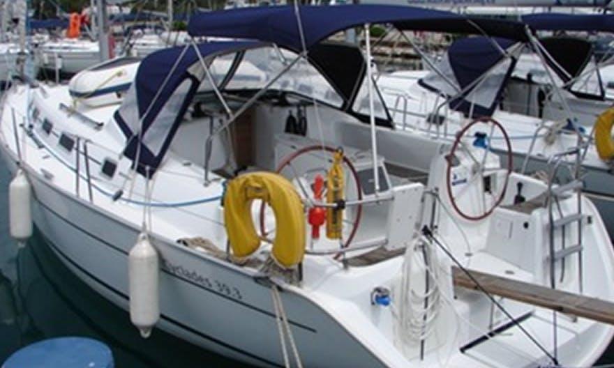 Charter a 8 person Cyclades 39.3 Carriddi Cruising Monohull in Palermo, Sicilia