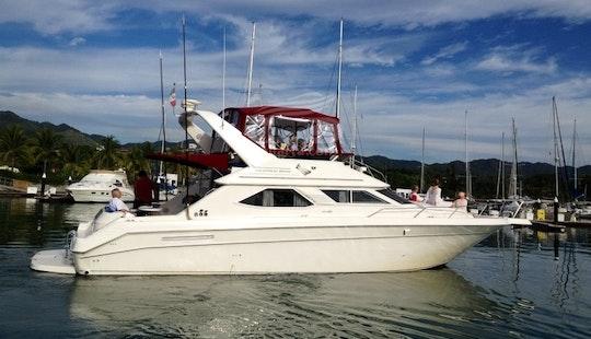 Hit The Water On Sea Ray 46 Motor Yacht In Puerto Vallart, Mexico