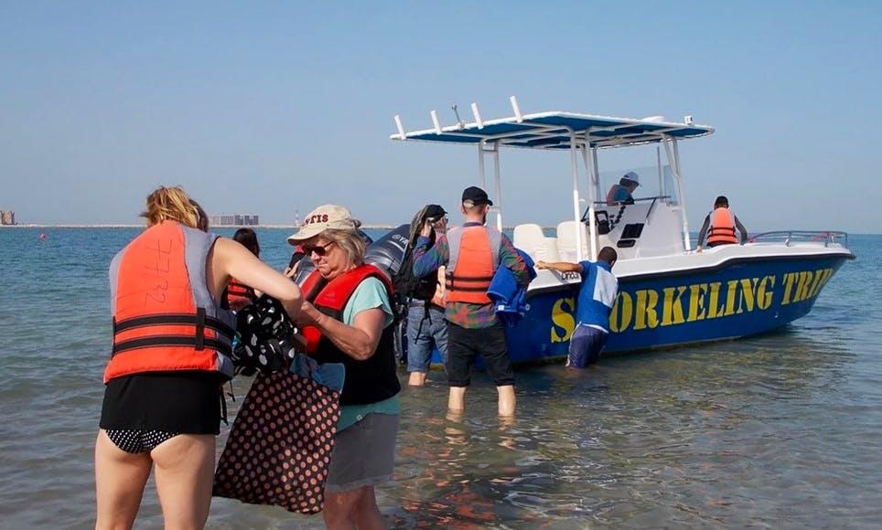 Boat Cruise for 6 Person in Al Jazirah Al Hamra, UAE