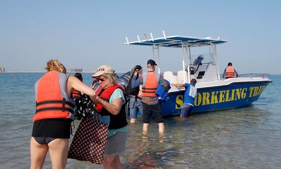 Boat Cruise For 6 Person In Al Jazirah Al Hamra, Uae