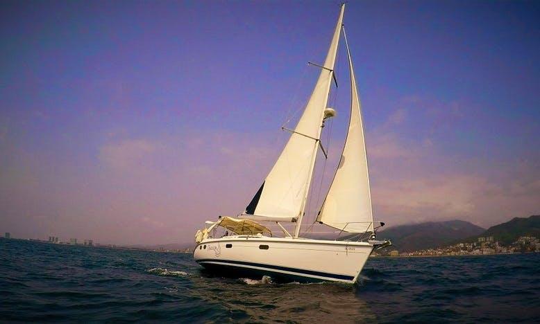 Explore Puerto Vallarta, Mexico on Hunter 38 Sailboat