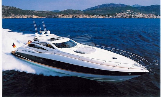 Sunseeker Predator 75 Power Yacht For Charter In Puerto Vallarta, Mexico