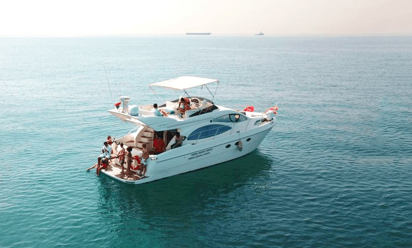 Charter the yacht of your dreams 50' Azimut Cozmo in Dubai, United Arab Emirates