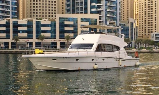 45 Person Al Shaali Power Mega Yacht Charter In Dubai, United Arab Emirates