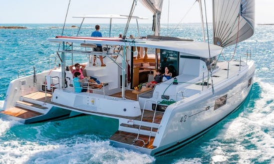 Explore In Sukošan, Croatia On 42' Lagoon - Lolina Cruising Catamaran For Charter