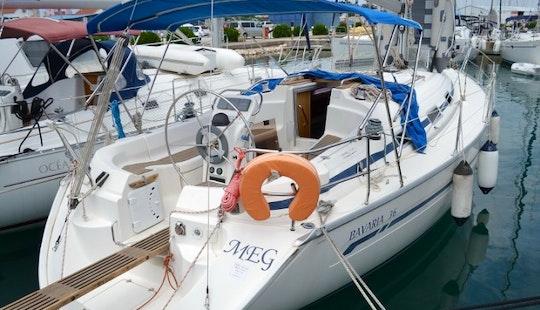 8 Persons 36' Bavaria - Meg Cruising Monohull For Charter In Sukošan, Croatia