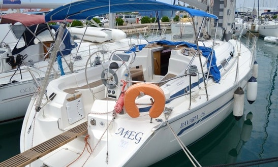 8 Persons 36' Bavaria - Meg Cruising Monohull For Charter In Sukošan, Croatia