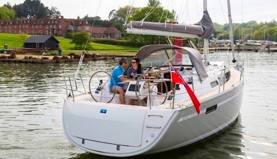 Experience Sailing On 34' Bavaria Cruiser Cruising Monohull In Sukošan, Croatia