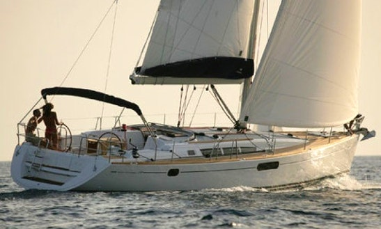 49' Sun Odyssey - Vila Cruising Monohull In Sukošan, Croatia For Charter
