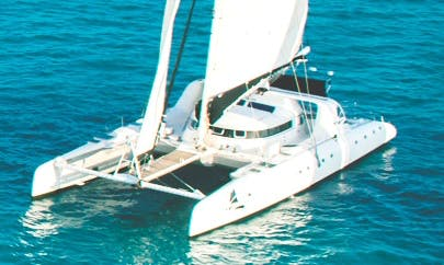 82' Cruising Catamaran For Charter in Cancún, Mexico For 65 Persons
