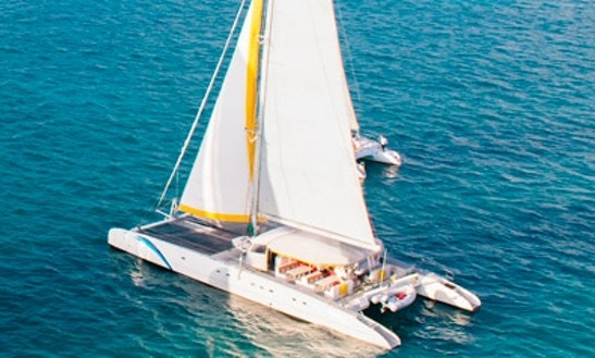 80 Persons 75' Cruising Catamaran In Cancún, Mexico For Charter