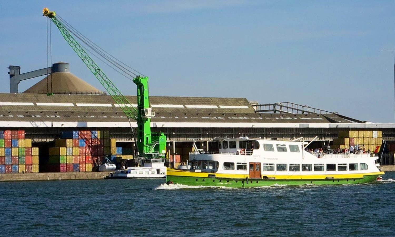 Discover the Antwerp harbour in Vlaanderen, Belgium
