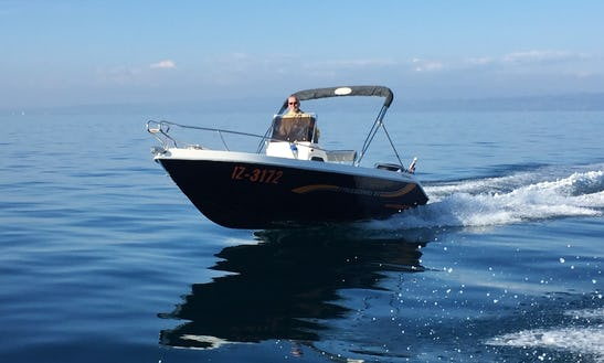 Rent This Freeboard Terminal Center Console With 70 Hp Engine In Portorož, Slovenia