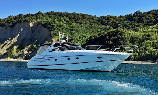Charter The Yacht Of Your Dreams Princess V50 In Portorož, Slovenia