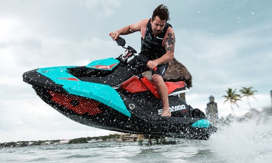 Hit The Water On Sea Doo Spark Trixx Jet Ski In Portorož, Slovenia