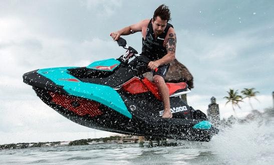 Hit The Water On Sea Doo Spark Trixx Jet Ski In Portorož, Slovenia