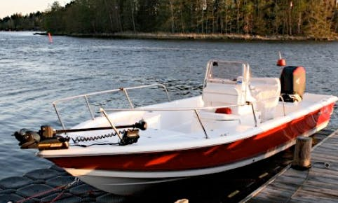 Sea Pro 24 Bay Center Console in Vaxholm, Stockholms perfect for fly fishing