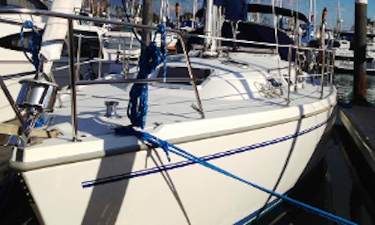 2-hour Cruise On California Coast Aboard The 36' Catalina Sailboat With Captain John