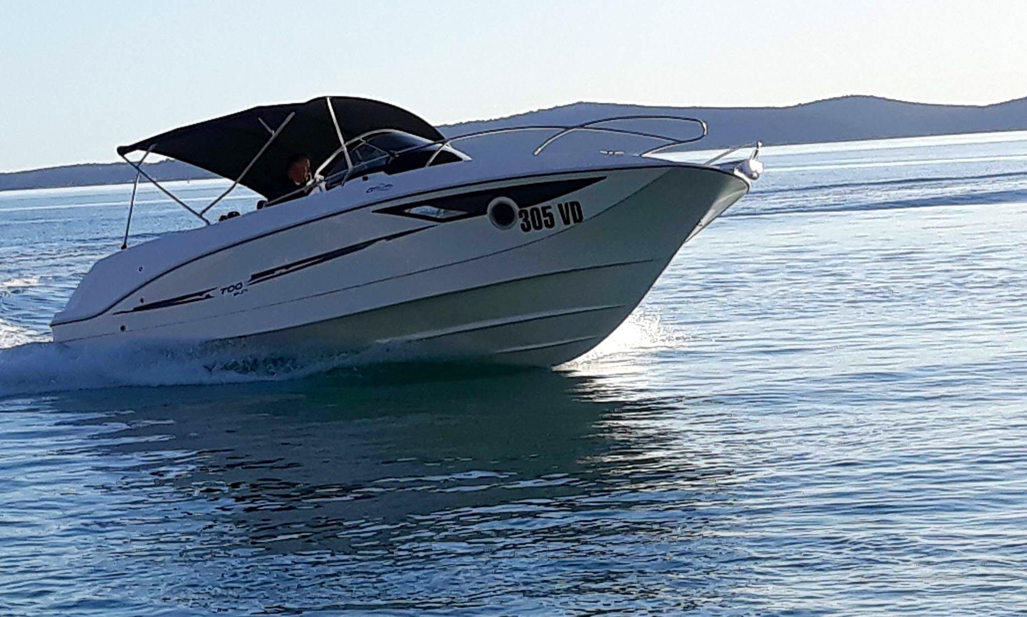 Rent Galeon 700 Sundeck Motor Yacht rental in Tribunj