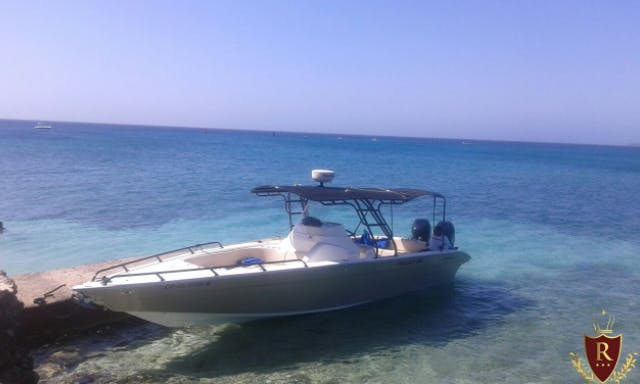 Freccia d'oro center console speedboat