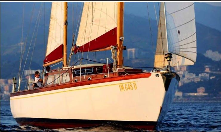 75 ft Sangermani Gulet Sailing Charter in Vibo Marina, Calabria