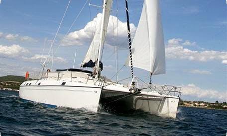 Hit the water on Privilege 48 Cruising Catamaran in Vibo Marina, Calabria
