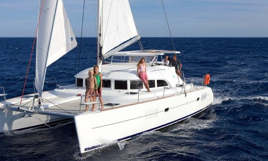 An Amazing Rental Experience On Lagoon 38 Cruising Catamaran In Vibo Marina, Calabria