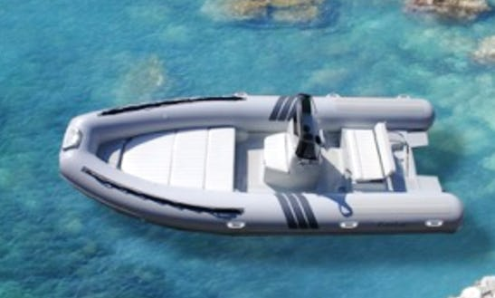 6 Person Rigid Inflatable Boat Rental In Vibo Marina, Calabria