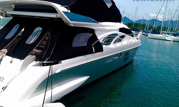 Have an amazing time in Angra dos Reis, Brazil on Intermarine 680 Power Mega Yacht