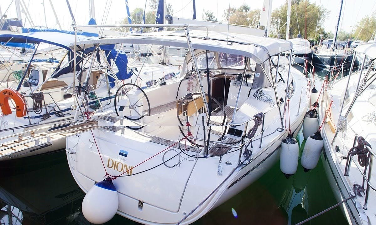 Explore Piraeus, Greece aboard S/Y Dioni: An sloop