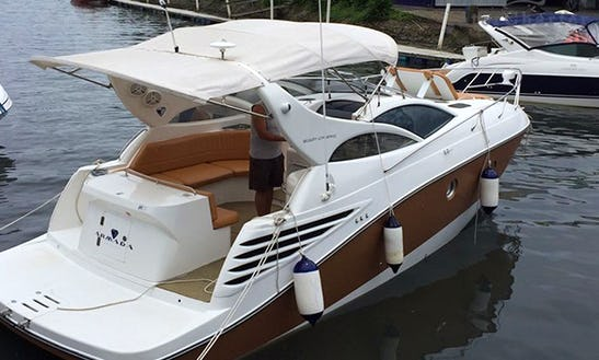 Hit The Water On Armada 30 Motor Yacht In Porto Belo, Brazil