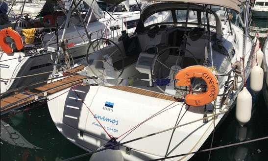 Enjoy Sailing In Pireas, Greece Aboard Anemos 41' Cruiser