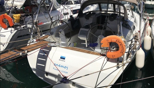 Enjoy Sailing In Pireas, Greece Aboard Anemos 41' Cruiser