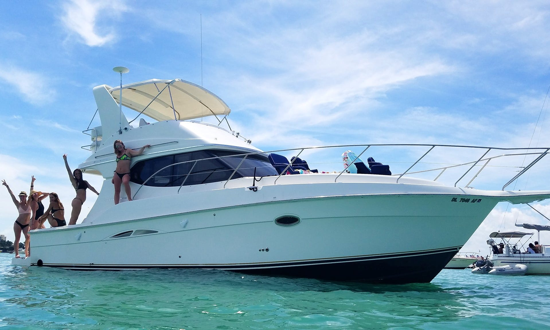 Amazing & Immaculate 40' Yacht rental in Fort Lauderdale, Boca, or Miami