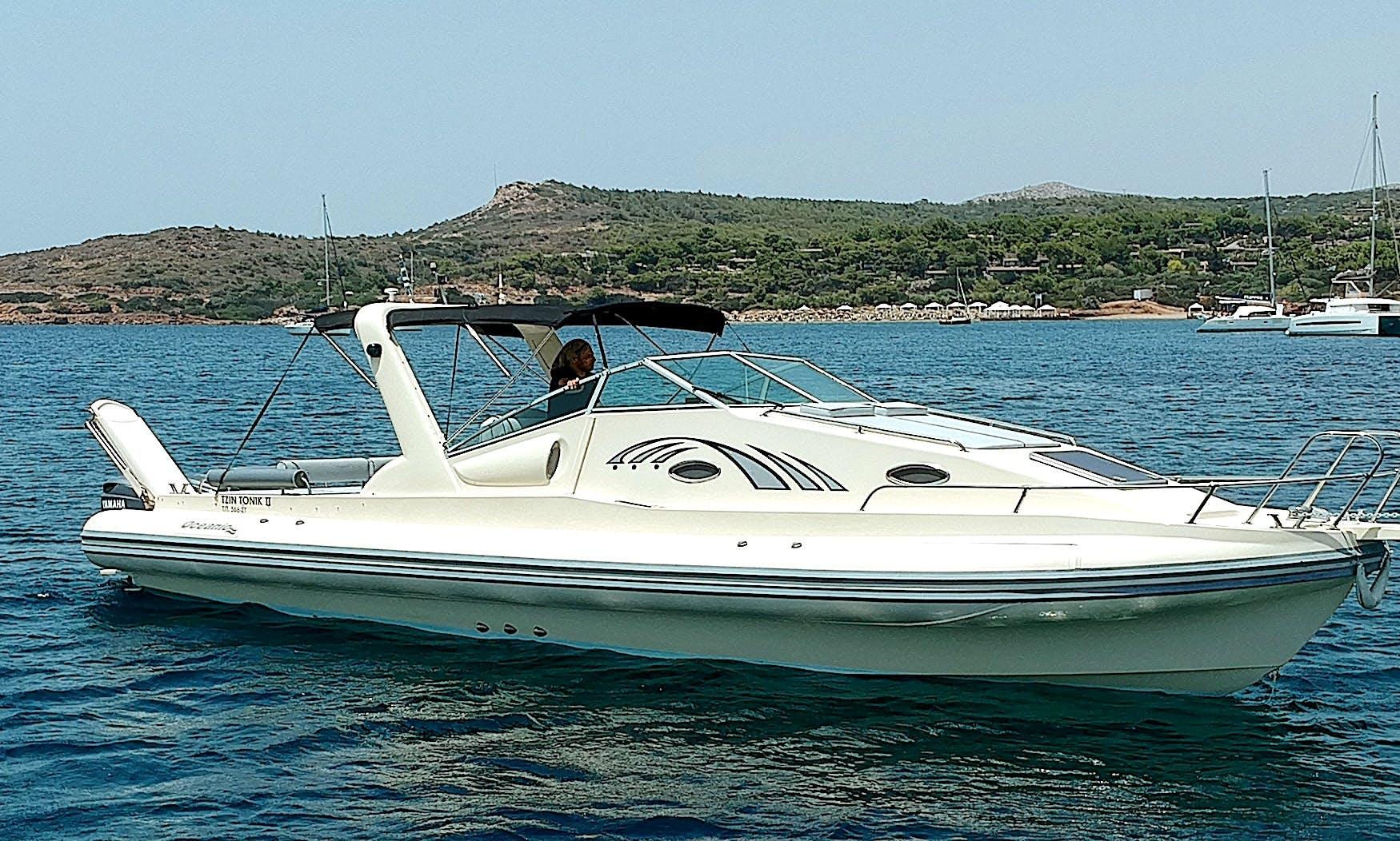 Oceanic Alegria 37ft Speedboat Rental in Porto Heli