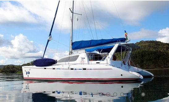 An Amazing Charter Experience In Zanzibar City, Tanzania On Leopard 47 Catamaran