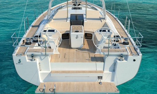 Have An Amazing Time In Agios Nikolaos, Greece On Beneteau Oceanis 551 Cruising Monohull
