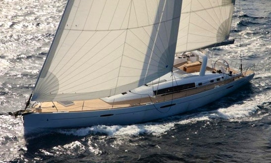 10 Persons 57' Beneteau Oceanis Cruising Monohull Charter In Paleo Faliro, Greece