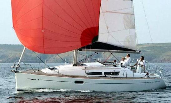 8 Persons 36' Jeanneau Sun Odyssey Cruising Monohull Charter In Paleo Faliro, Greece