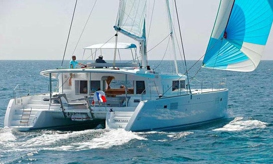 Explore The Waters Of Paleo Faliro, Greece On Lagoon 450 Cruising Catamaran