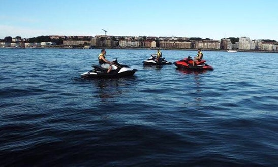 Climb Up Jet Ski And Rise Your Adrenaline Level In Helsingborg, Sweden