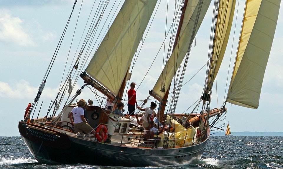 Sail aboard a 32 Person Classic Schooner in Salem, Massachusetts