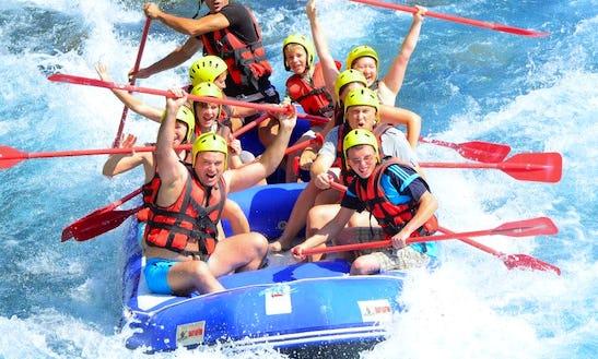 Rafting Tour In Antalya Koprulu Canyon
