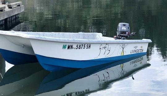 Catamaran Skiff For Rent In Friday Harbor