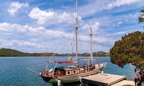 1968 Wooden Sailboat Charter In Zadar, Croatia