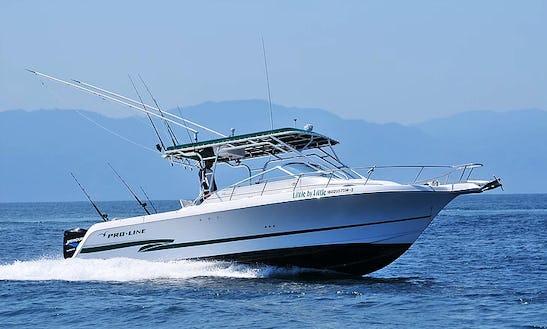 Proline 30 Cuddy Cabin Fishing Charter In Puerto Vallartal, Mexico