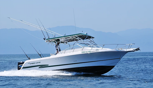 Proline 30 Cuddy Cabin Fishing Charter In Puerto Vallartal, Mexico