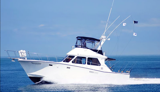 Pacifica 44 Sport Fisherman Fishing Charter In Puerto Vallarta, Mexico